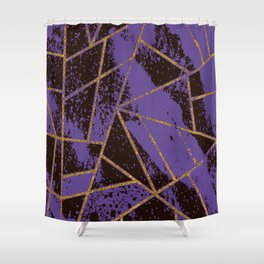 Abstract #989 Shower Curtain