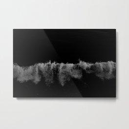 Surf + Sand Metal Print