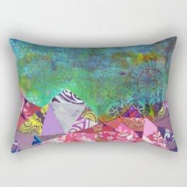 Keep Close To Nature's Heart John Muir Quote Rectangular Pillow