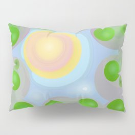 Looking Up at the Sun Pillow Sham
