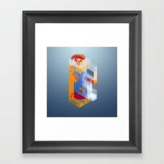 Castle of Impossible Flavors Framed Art Print