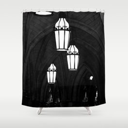 Church Lights and Arches photograph Shower Curtain