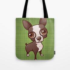 Zippy the Boston Terrier Tote Bag