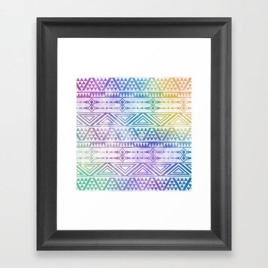 Tribal Voice Framed Art Print