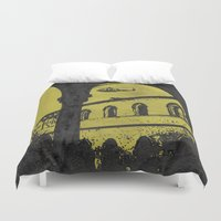 milan Duvet Covers featuring Milan 4 by Anand Brai