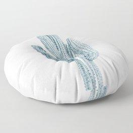 Cactus, Blue Cactus, Cacti Floor Pillow