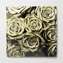 Vintage Gold Roses by jnccreations