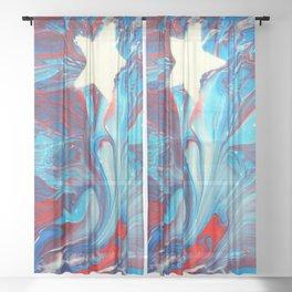 Que Bonita Bandera Sheer Curtain