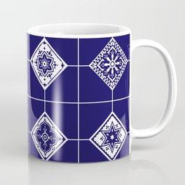 Talavera Mexican Tile – Porcelain Palette Coffee Mug