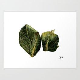 Skunk Cabbage Art Print