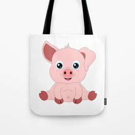 Year of the Pig Piggy Piglet Lover Luck Gift Tote Bag