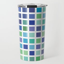 City Blocks - Ocean #889 Travel Mug