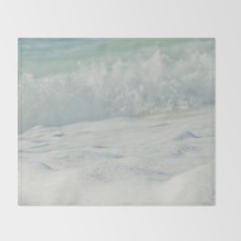 Sea Foam - Ocean Medley Throw Blanket