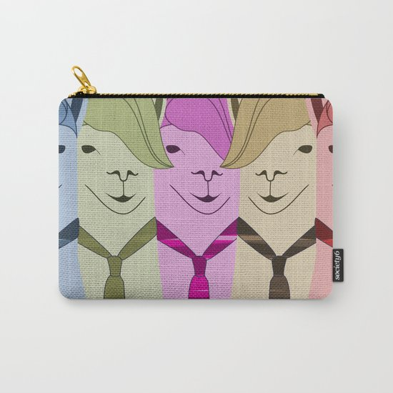 Lama Hipster Design Carry-All Pouch