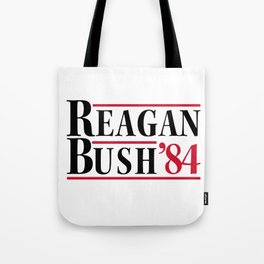 Reagan Bush 84 Tote Bag