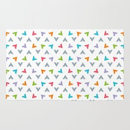 Triangle composition Rug