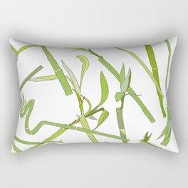 Scattered Bamboos Rectangular Pillow