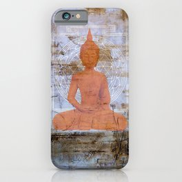 Buddha Mandala iPhone Case