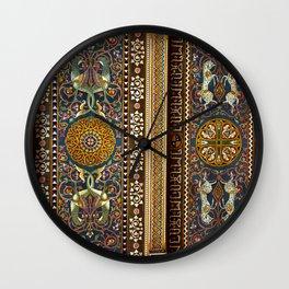 Sicilian ART NOUVEAU - Stile Floreale  Wall Clock