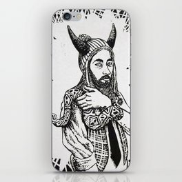 Beware the Hipster iPhone Skin