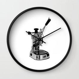 Europiccola La Pavoni Lever Espresso Machine Wall Clock