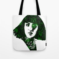 fringe Tote Bags featuring fringe by fashionistheonlycure