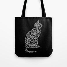 Cat Zendoodle Design Tote Bag