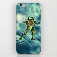 robot iPhone & iPod Skins featuring Robot  by nicky2342