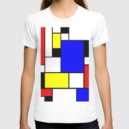 Mondrian Style T-shirt