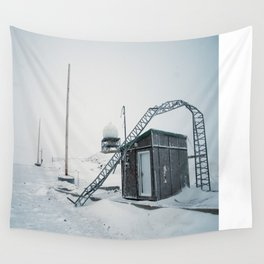 Abandon Iqaluit D.E.W. Line Site 1 Wall Tapestry