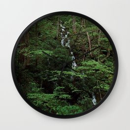 April Showers Wall Clock
