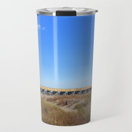 Restaurant And Pier Travel Mug