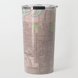 Vintage Map of Council Bluffs IA (1901) Travel Mug
