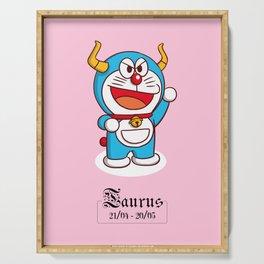Doraemon Zodiac - Taurus Serving Tray
