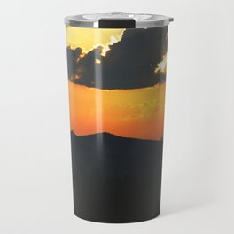 Mountain sunse Travel Mug