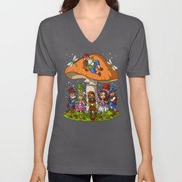 Hippie Gnomes Unisex V-Neck