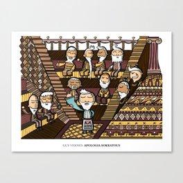 Apologia Sokratous Canvas Print