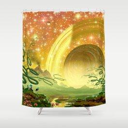 Majestic Night Shower Curtain