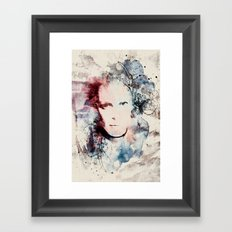 Me I Framed Art Print
