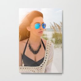 These Shades Metal Print