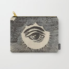 Vintage Magic Eye Carry-All Pouch