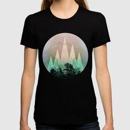 TREES under MAGIC MOUNTAINS IV T-shirt