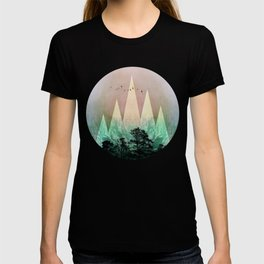 TREES under MAGIC MOUNTAINS IV T-shirt