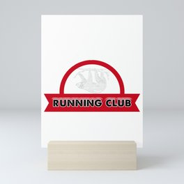 Adorable Sloth Running Club Sloth Lovers Team Mini Art Print