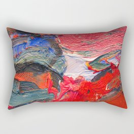 Up Close & Personal with Portrait of a Shoe #2 by Joan Brown Rectangular Pillow