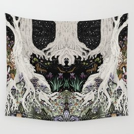 Starry Forest Wall Tapestry