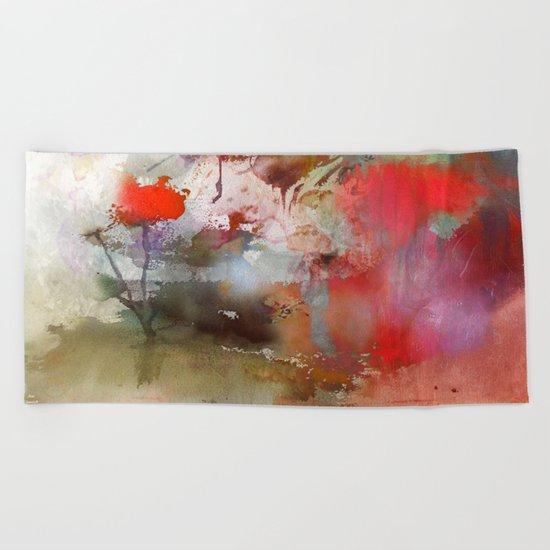 Petite fleur Beach Towel