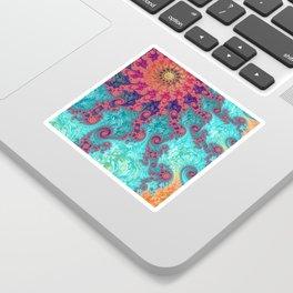 Rainbow Fractal Sticker