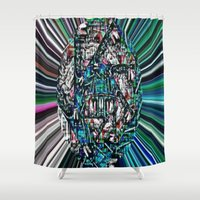 champagne Shower Curtains featuring Champagne Disco by J.A.G(ibbs)
