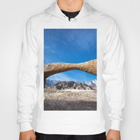 alabama Hoodies featuring Alabama Arch by davehare
